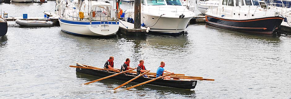 4 Man boat - Dingle regatta