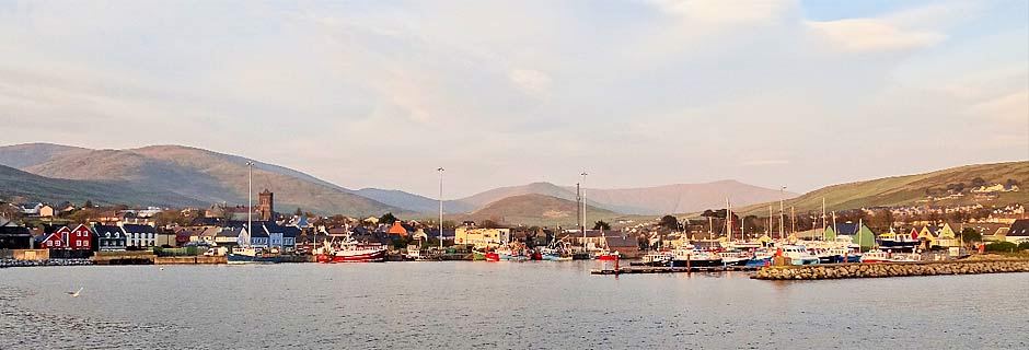 Dingle harbour from the sea