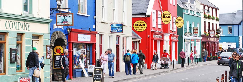 Main Street dingle Town